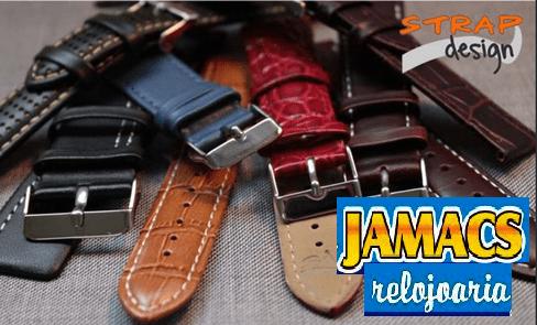 pulseiras em couro stilli strap relojoaria jamacs